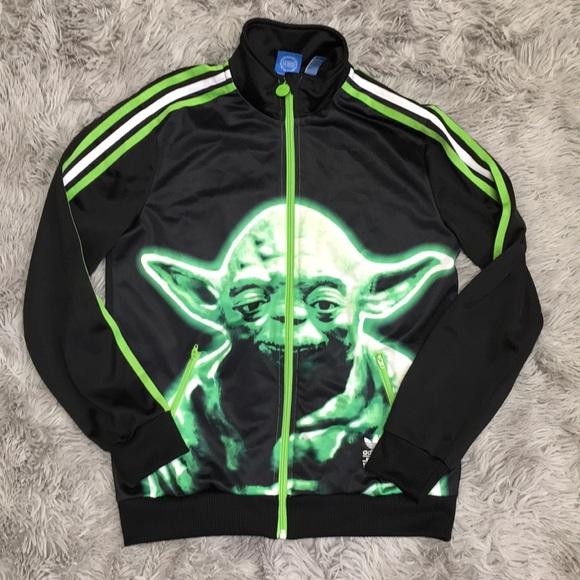 Adidas Star Wars Yoda Trefoil Track Jacket L Large